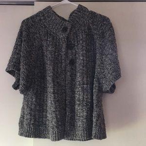 Sonoma 3 Button Short Sleeve Cardigan